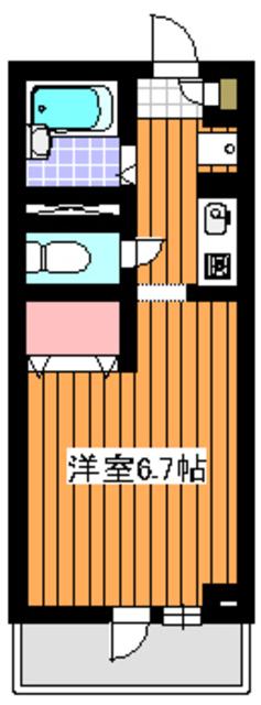 地下鉄赤塚駅 徒歩1分間取図