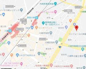 ラフィスタ川崎Ⅳ案内図