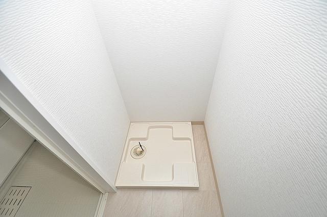 K.Bld 室内に洗濯機置き場があれば雨の日でも安心ですね。