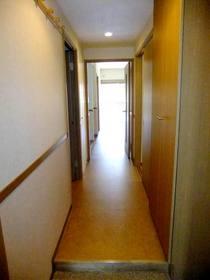 玄関からリビングまでの廊下部分
