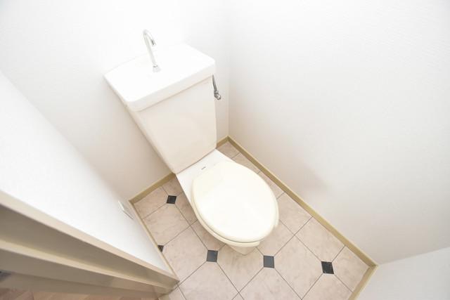 マーキュリーハイム飛田 清潔感のある爽やかなトイレ。誰もがリラックスできる空間です。