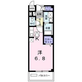 東村山駅 バス23分「東大和市」徒歩2分3階Fの間取り画像
