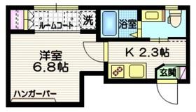 フォレストコート渋谷3階Fの間取り画像