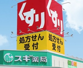 スギ薬局新井薬師店