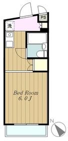 グレイスメゾンセンチュリー3階Fの間取り画像