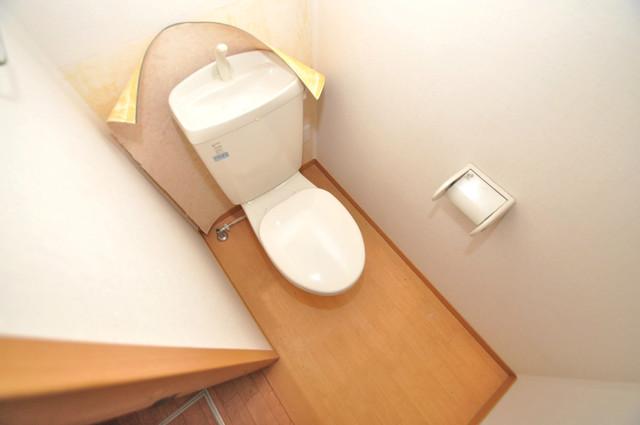 エントピア西堤C 清潔感のある爽やかなトイレ。誰もがリラックスできる空間です。