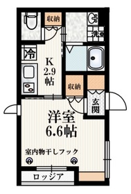 VilleNatale2階Fの間取り画像