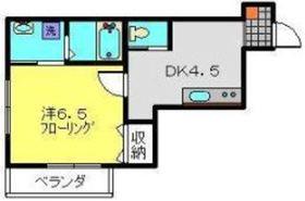 サンフェリーチェ2階Fの間取り画像