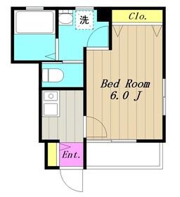 イルデパン1階Fの間取り画像