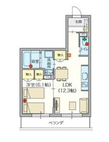 ヘーベルVillage 椎名町3階Fの間取り画像