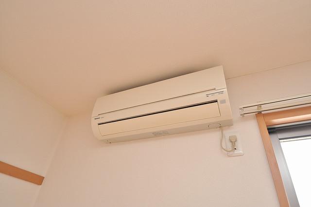 T-WEST エアコンが最初からついているなんて、本当に助かりますね。