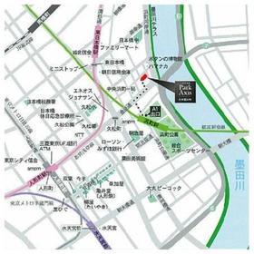 パークアクシス日本橋浜町案内図