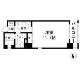 TINO汐留5階Fの間取り画像