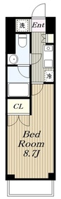 KDXレジデンス湘南台4階Fの間取り画像