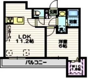(仮称)中央1丁目メゾン2階Fの間取り画像
