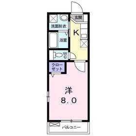 24フラット荻窪3階Fの間取り画像