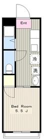 メゾンセントピア1階Fの間取り画像