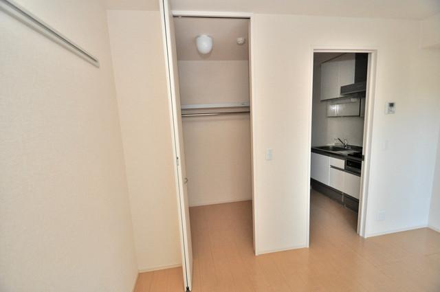 セジュールオッツ八戸ノ里 人気のWICです。広々とお部屋が使えますね。