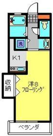 三ツ境駅 徒歩7分2階Fの間取り画像