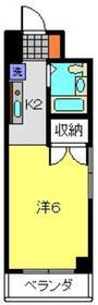 小川ビル5階Fの間取り画像