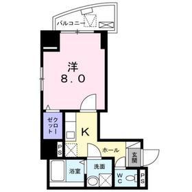 ラヴィオン.アー3階Fの間取り画像