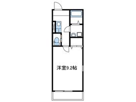 プラムハイム2階Fの間取り画像