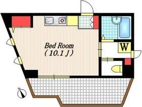 flat M5階Fの間取り画像