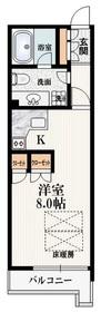 練馬春日町駅 徒歩19分地下1階Fの間取り画像