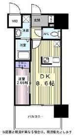 アルティザ仙台花京院7階Fの間取り画像
