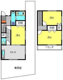 シャンス東寺尾中台11-31階Fの間取り画像