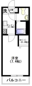 セントラルビュー2階Fの間取り画像