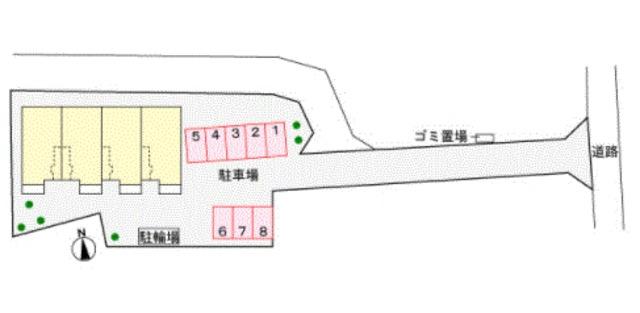 アムールA配置図