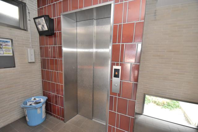ソレイユ真田山 嬉しい事にエレベーターがあります。重い荷物を持っていても安心