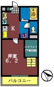 リブリ・チヒロ壱番館1階Fの間取り画像