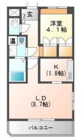 元住吉駅 徒歩32分3階Fの間取り画像