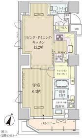 パークアクシス赤坂見附5階Fの間取り画像