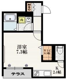 (仮称)志村2丁目メゾン1階Fの間取り画像