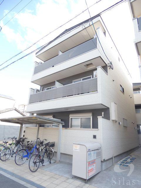大阪市生野区林寺6丁目の賃貸アパートの外観