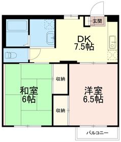 グランドメゾンナオキ(グランドメゾンNAOKI)3階Fの間取り画像