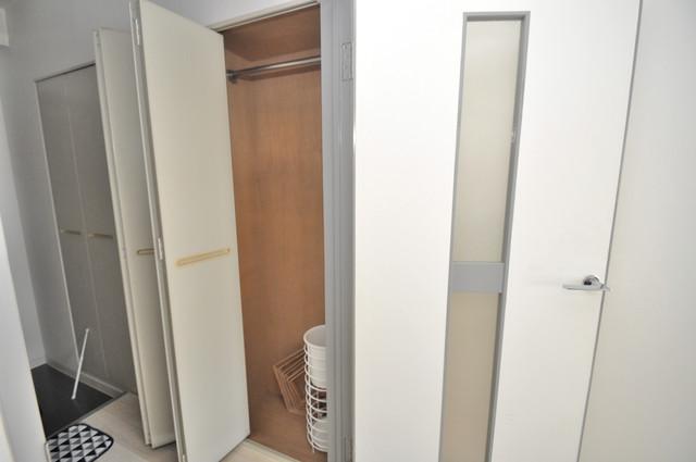 東大阪レジデンス もちろん収納スペースも確保。いたれりつくせりのお部屋です。
