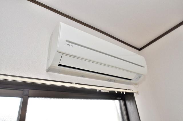 MAプレイス エアコンがあるのはうれしいですね。ちょっぴり得した気分。