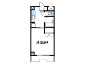 コアクレスト上草柳Ⅱ2階Fの間取り画像