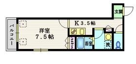 ラスリーズ3階Fの間取り画像