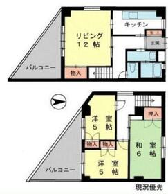 ヨシダビル4階Fの間取り画像