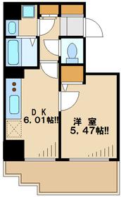 ウインベルコーラス聖蹟桜ヶ丘10階Fの間取り画像