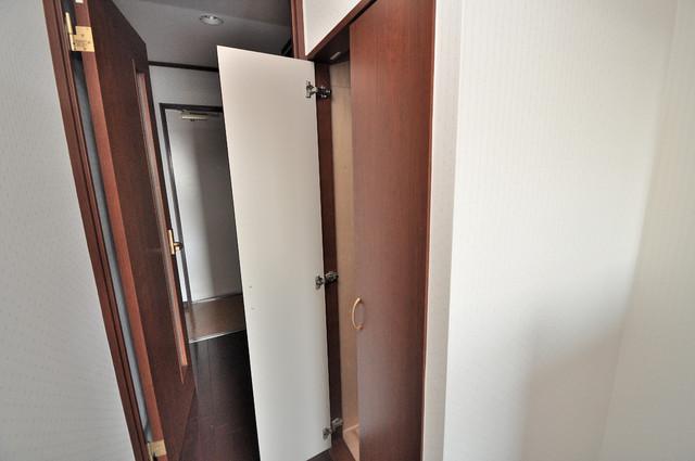 リュミエールイースト もちろん収納スペースも確保。お部屋がスッキリ片付きますね。