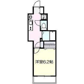 アルエット3階Fの間取り画像