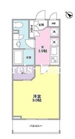 ZX minami-Otsuka3階Fの間取り画像