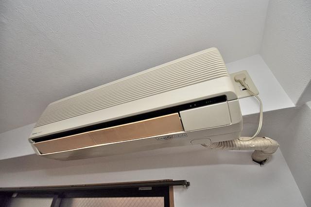 オーナーズマンション菱屋西 エアコンが最初からついているなんて、本当にうれしい限りです。