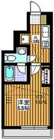 サンスプリング赤塚1階Fの間取り画像